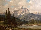 Robert Wood Grand Teton painting