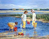 Sally Swatland Summer Memories painting