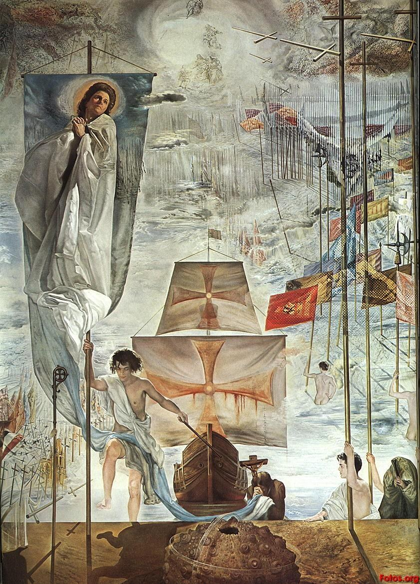 Salvador Dali The Discovery of America by Christopher Columbus