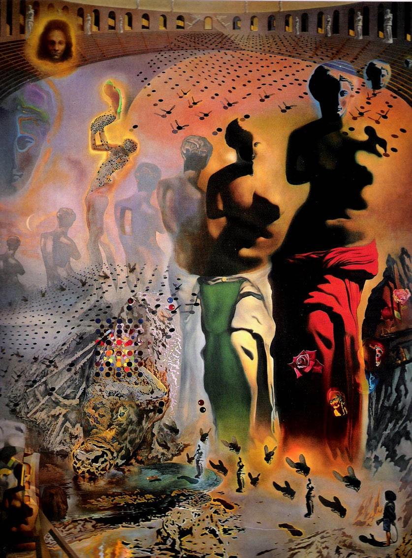 Salvador dali the hallucinogenic toreador painting best for All of salvador dali paintings