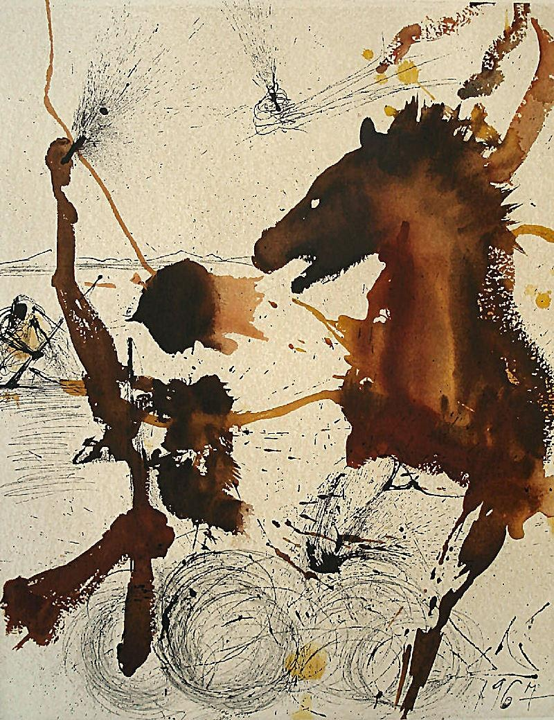 Salvador Dali The Pioneers of Israel