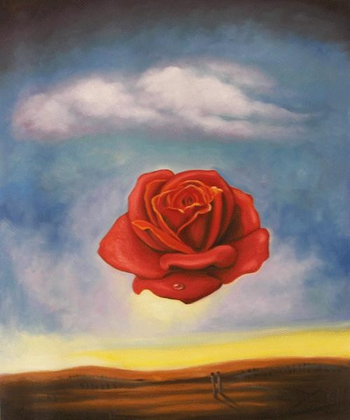 Salvador Dali The Rose