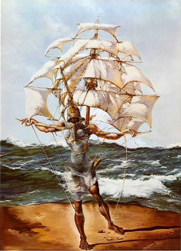 Salvador Dali The Ship