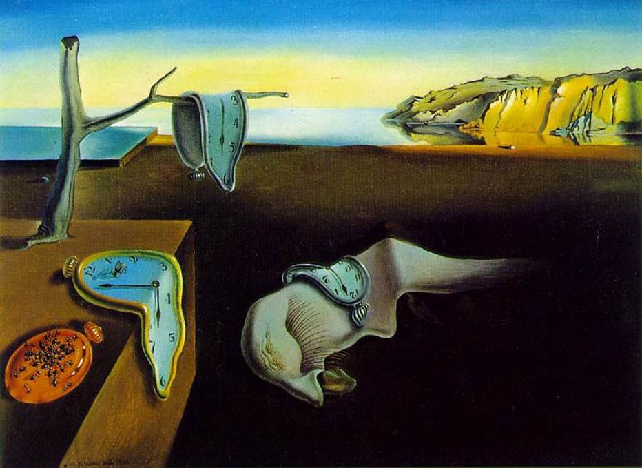 Salvador Dali clock melting clocks
