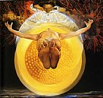 Salvador Dali Ascension painting