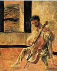 Salvador Dali Portrait of the Cellist Ricard Pichot painting