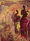 Salvador Dali The Hallucinogenic Toreador painting