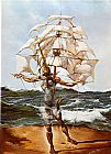 Salvador Dali The Ship painting