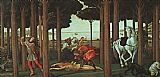 Sandro Botticelli The Story of Nastagio degli Onesti painting
