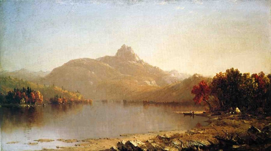 Sanford Robinson Gifford An October Afternoon