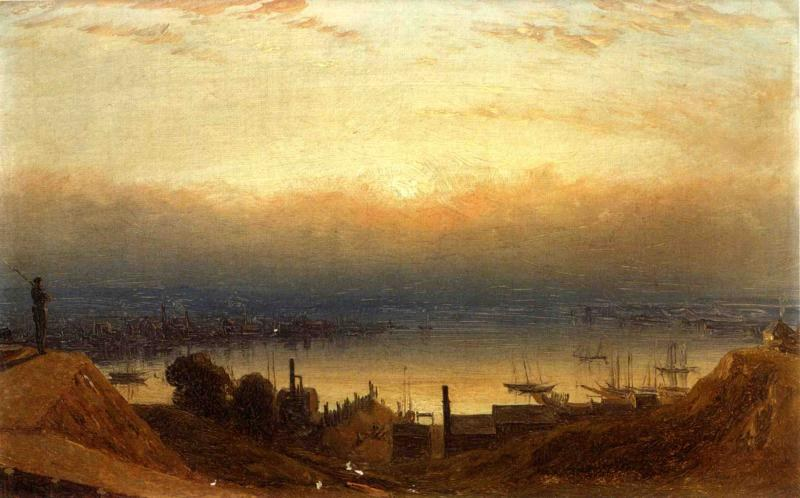 Sanford Robinson Gifford The Basin of the Patapsco from Federal Hill, Baltimore