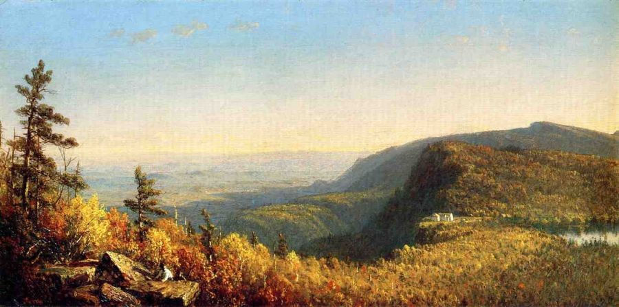 Sanford Robinson Gifford The Catskill Mountain House