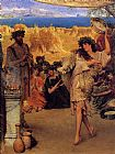 Sir Lawrence Alma-Tadema A Harvest Festival painting