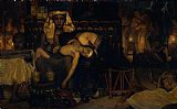 Sir Lawrence Alma-Tadema Death of the Pharaoh's Firstborn Son painting