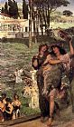 Sir Lawrence Alma-Tadema On the Road to the Temple of Ceres painting