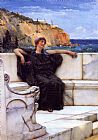 Sir Lawrence Alma-Tadema Resting painting