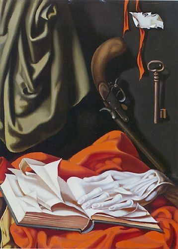 Tamara de Lempicka Key and Hand