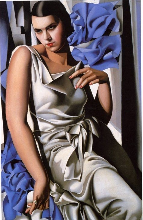 Tamara de Lempicka Portrait of Madame