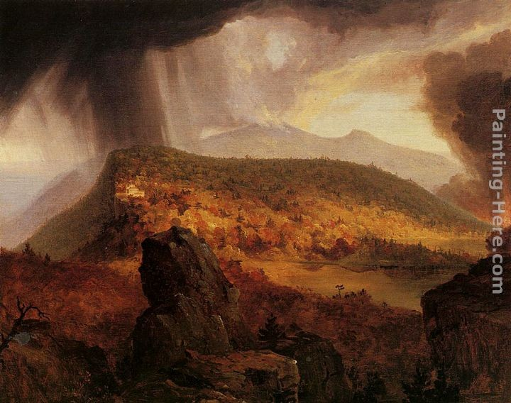 Thomas Cole Catskill Mountain House The Four Elements