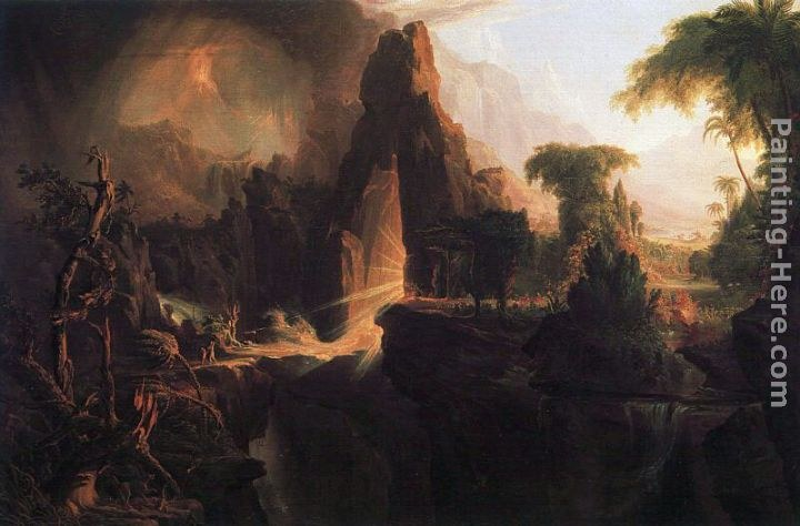 Thomas Cole Expulsion from the Garden of Eden