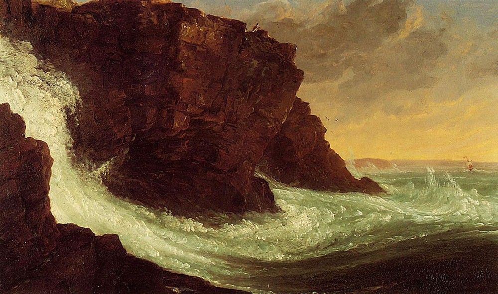 Thomas Cole Frenchman's Bay Mt Desert Island