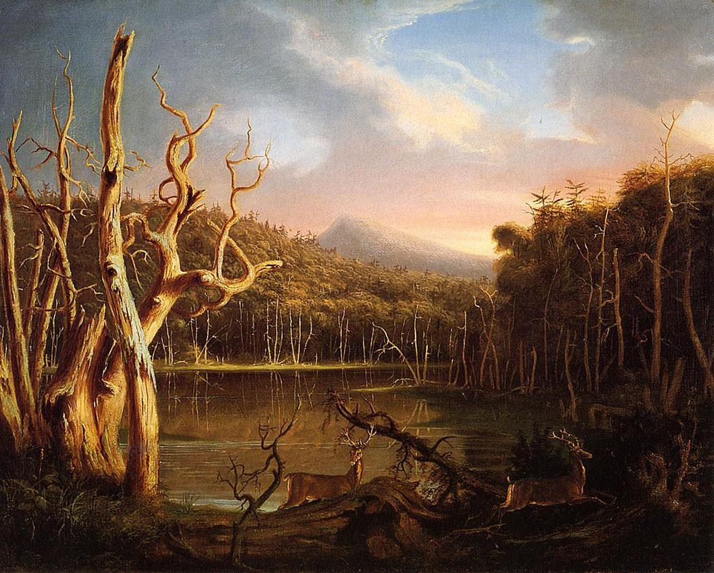 Thomas Cole Lake with Dead Trees (Catskill)
