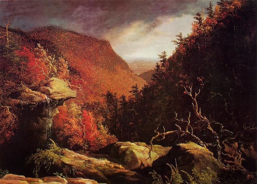Thomas Cole The Clove Catskills I
