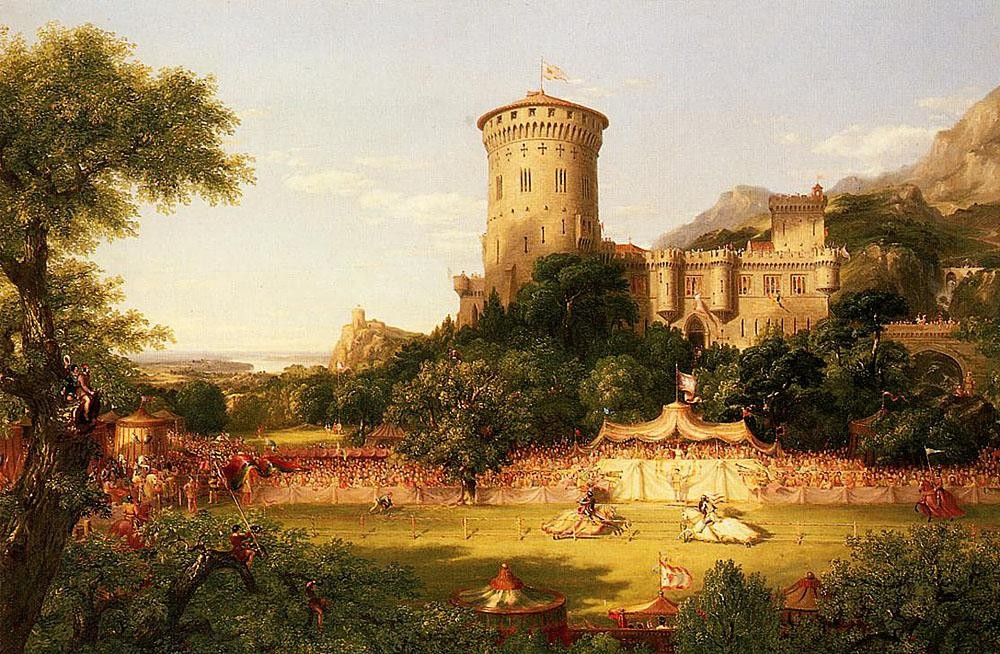Thomas Cole The Past