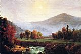 Thomas Cole A View in the United States of America in Autumn painting