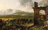 Thomas Cole A View near Tivoli Morning painting