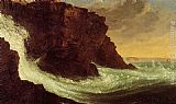 Thomas Cole Frenchman's Bay, Mt. Desert Island painting