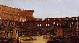 Thomas Cole Interior of the Colosseum, Rome painting