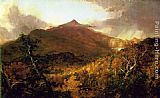 Thomas Cole Schroon Mountain, Adirondacks painting