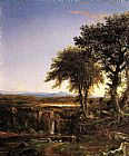 Thomas Cole Summer Twilight painting