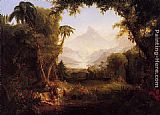 Thomas Cole The Garden of Eden painting