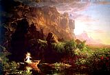 Thomas Cole The Voyage of Life Childhood painting