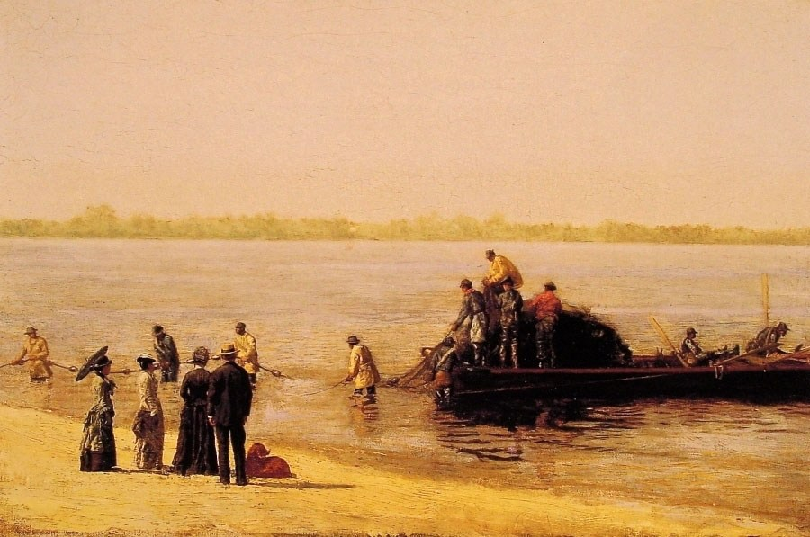 Thomas Eakins Shad Fishing at Gloucester on the Delaware River