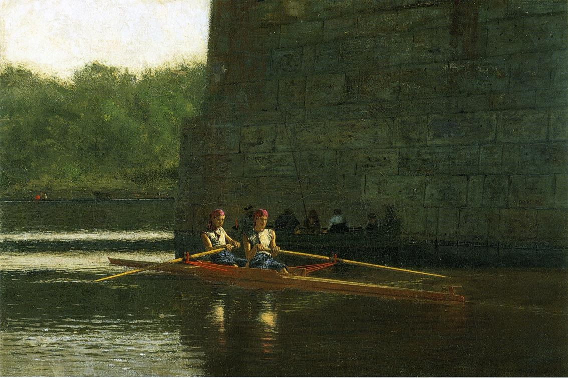 Thomas Eakins The Oarsmen