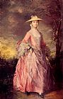 Thomas Gainsborough Mary Countess of Howe painting