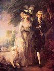 Thomas Gainsborough The Morning Walk painting