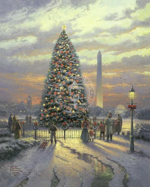 Thomas Kinkade Symbols of Freedom