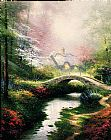Thomas Kinkade Brookeside Hideaway painting