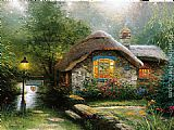 Thomas Kinkade Collector's Cottage I painting