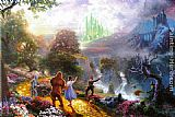 Thomas Kinkade Dorthy Discovers the Emerald City painting
