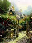 Thomas Kinkade Hidden Cottage II painting
