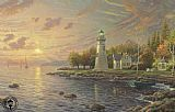 Thomas Kinkade Serenity Cove painting