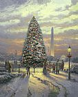 Thomas Kinkade Symbols of Freedom painting