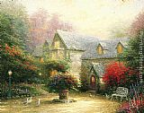 Thomas Kinkade The Blessings Of Spring painting
