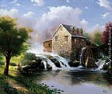 Thomas Kinkade The Blessings Of Summer painting