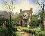 Thomas Kinkade The Cottage painting